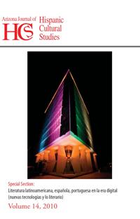 Volume 14 (2010) – Nuevas tecnologías y lo literario