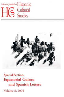 Volume 8 (2004) – Equitorial Guinea and Spanish Letters